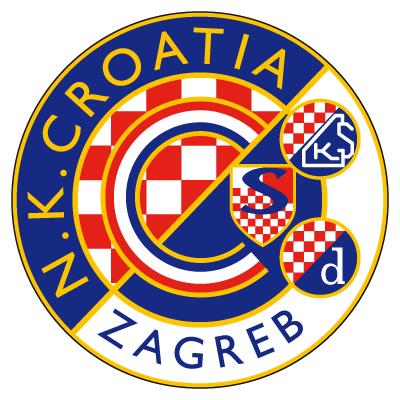 Amblemi sportskih klubova Dinamo-Zagreb@4.-old-Croatia-logo